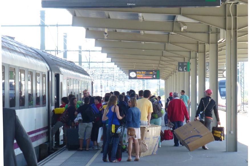Optimización del precio y frecuencia de los servicios de viajeros basada en modelos de reparto modal y de evolución del mercado
